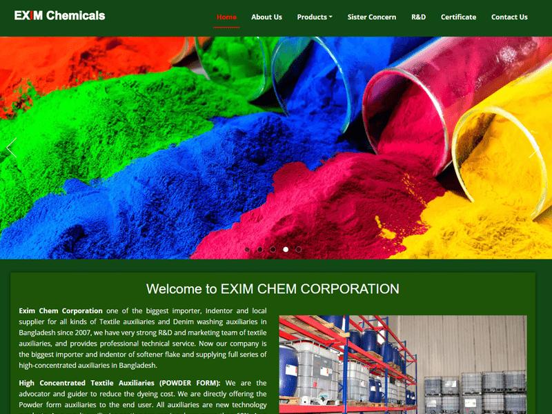 Chemical Company Website List